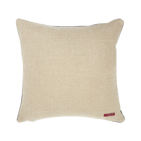 Berlingot Square Throw Pillows by Iosis Fig Linens back