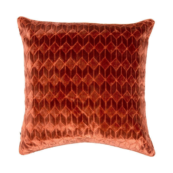 Ilioa Orange Decorative Throw Pillow by Iosis | Fig Linens