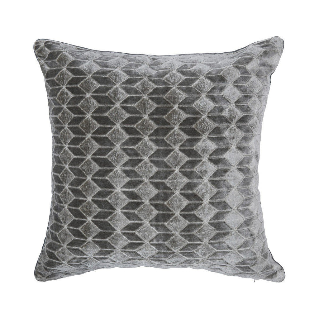 Ilioa Perle Gray Decorative Throw Pillow by Iosis | Fig Linens