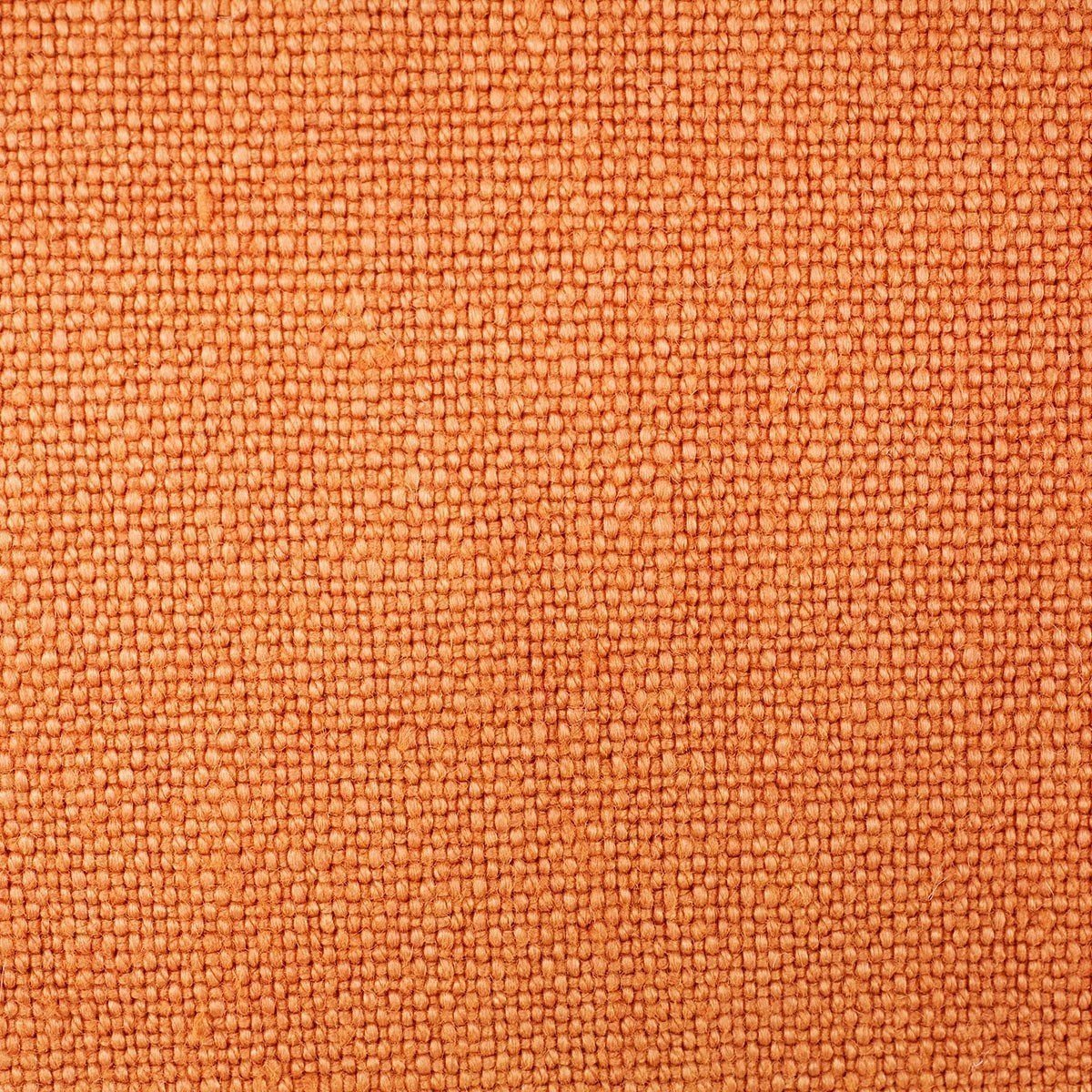 Pigment Cuir Orange Throw Pillows by Iosis | Fig Linens - Detail