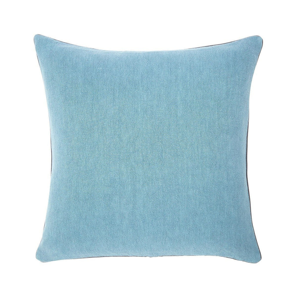 Pigment Denim Blue Throw Pillows by Iosis | Fig Linens - Front