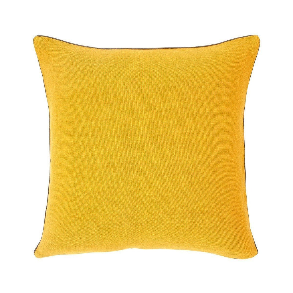Pigment Jaune D'or Yellow Throw Pillow by Iosis | Fig Linens - Front