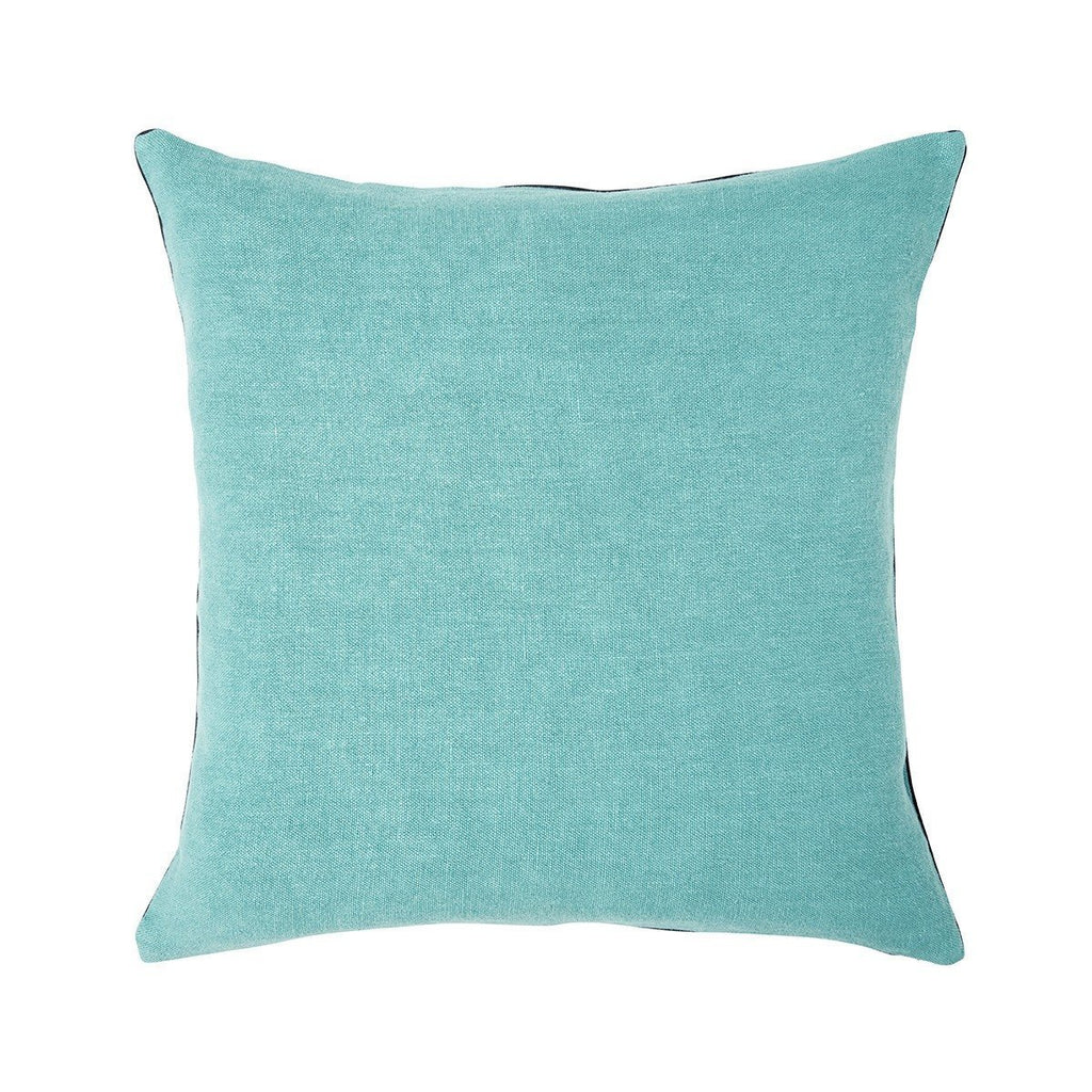 Pigment Nil Light Blue Throw Pillows by Iosis | Fig Linens - Front