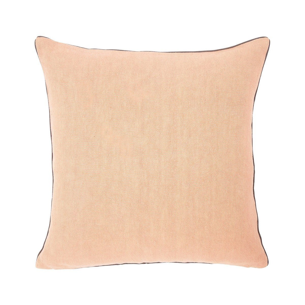 Pigment Peche Peach Throw Pillow by Iosis | Fig Linens - Front