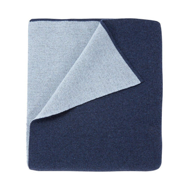 Verso Nuit Blue Throw by Iosis | Fig Linens