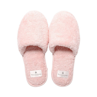Etoile Blush Women's Slippers by Yves Delorme | Fig Linens - Pink slippers