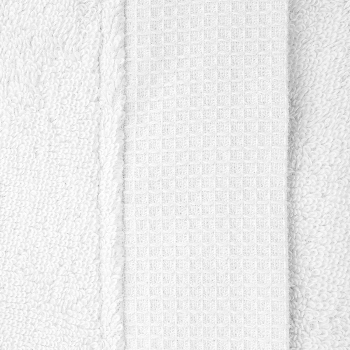 Astrée Kimono Blanc Bathrobe by Yves Delorme | Fig Linens - White bath robe with pockets and belt