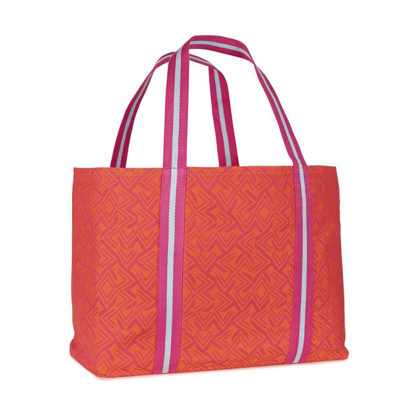 Amazonie Beach Bag by Le Jacquard Français Fig Linens Tropical