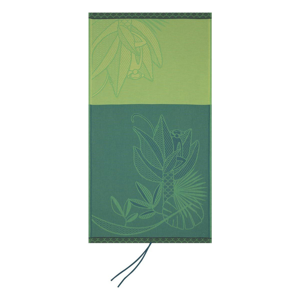 Amazonie Kids' Beach Towels by Le Jacquard Français Fig Linens Forest Green