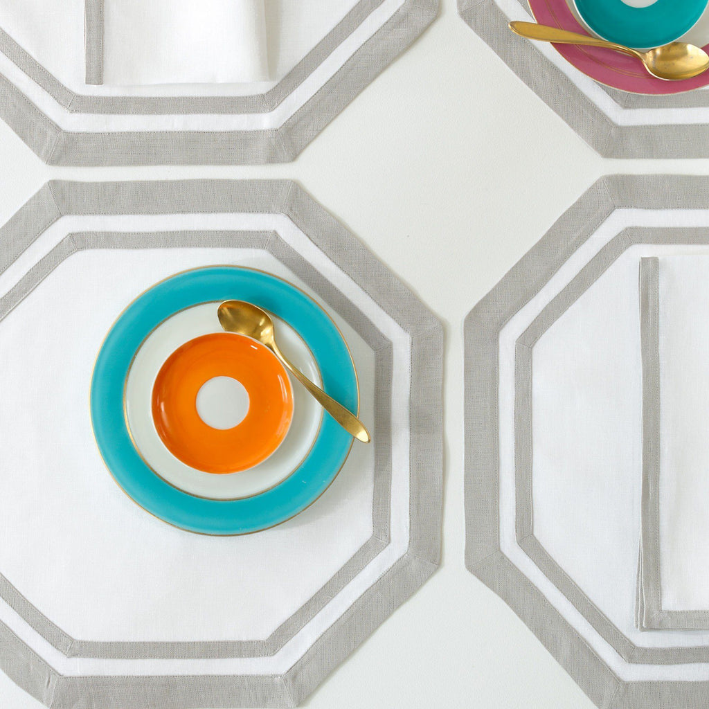 Matouk Casual Couture Octagon Placemats | Fig Linens and Home