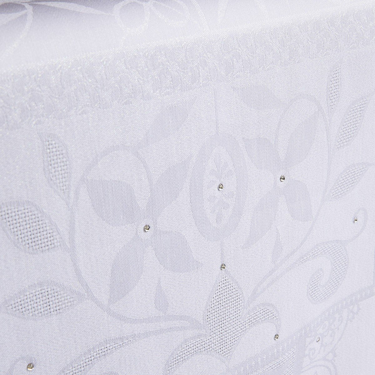 Venezia Cristal Table Linens Le Jacquard Français Fig Linens Tablecloth