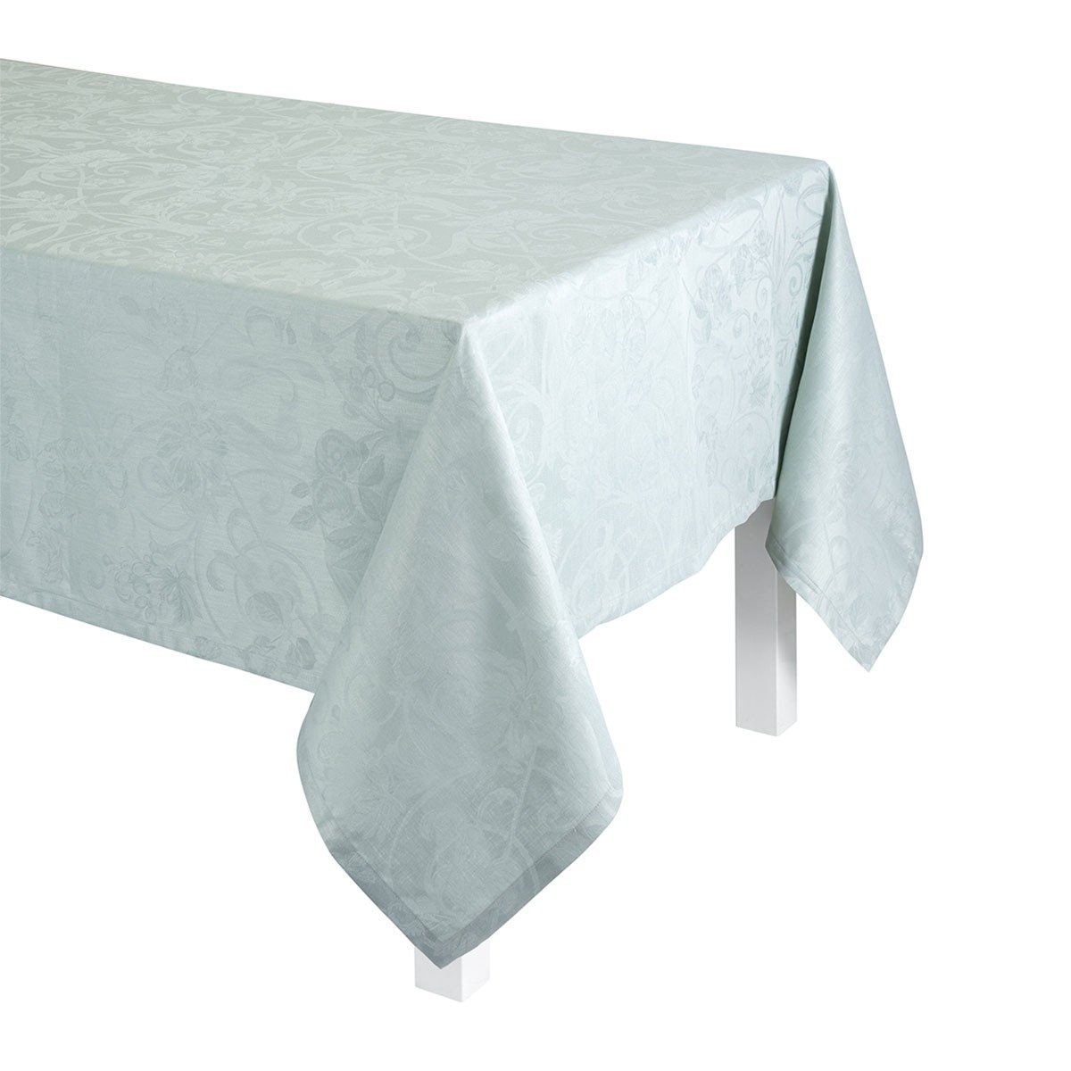 Le Jacquard Français Table Linen Tivoli in Mist Fig Linens Tablecloth