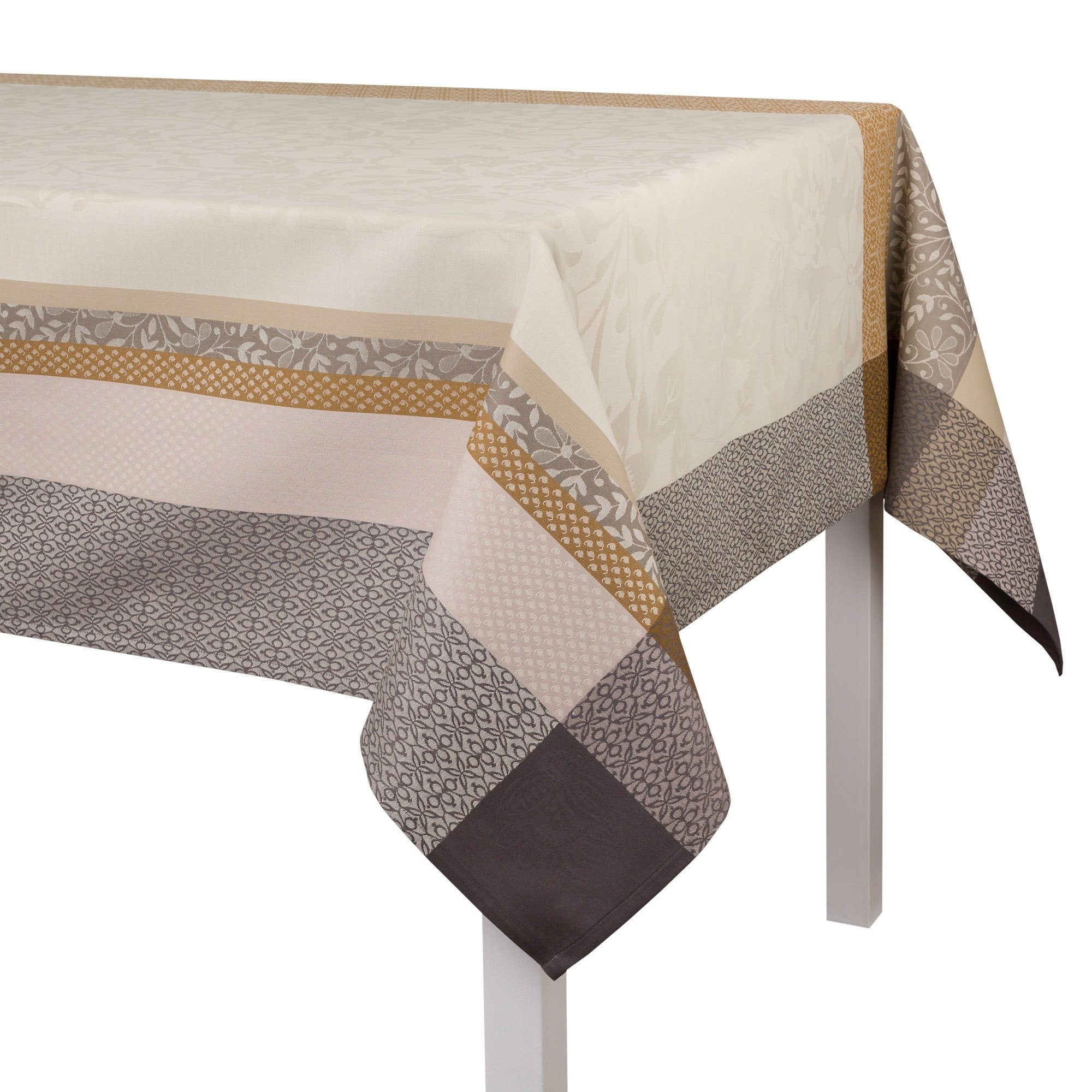 Le Jacquard Français Table Linen Provence Beige Fig Linens Tablecloth