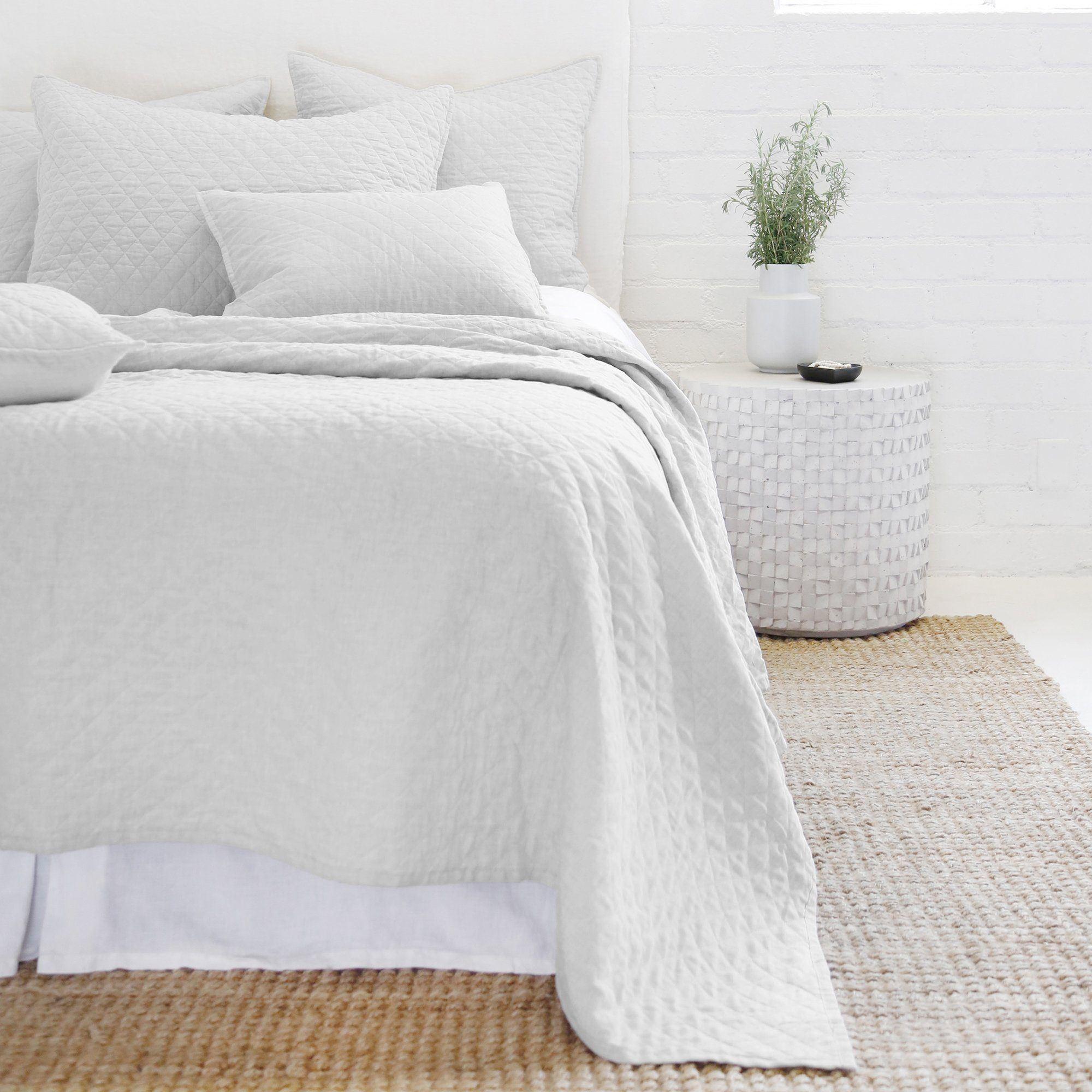 Pom Pom at Home - Hampton Silver Coverlet Collection | Fig Linens