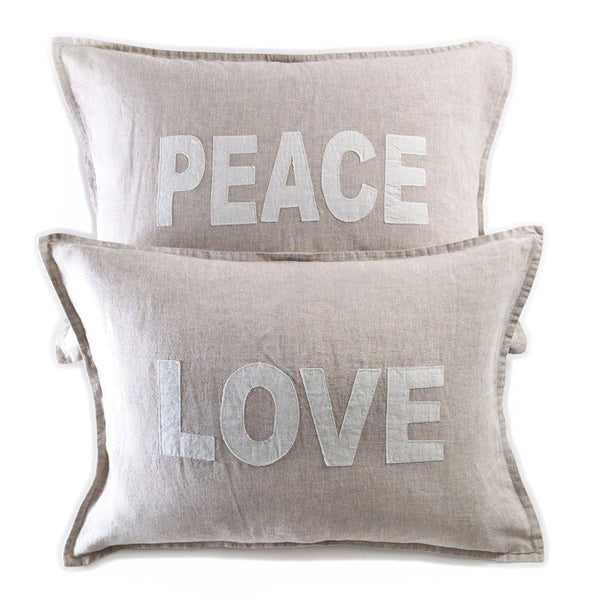 Pom Pom at Home - Love & Peace Pillow Cover | Fig Linens