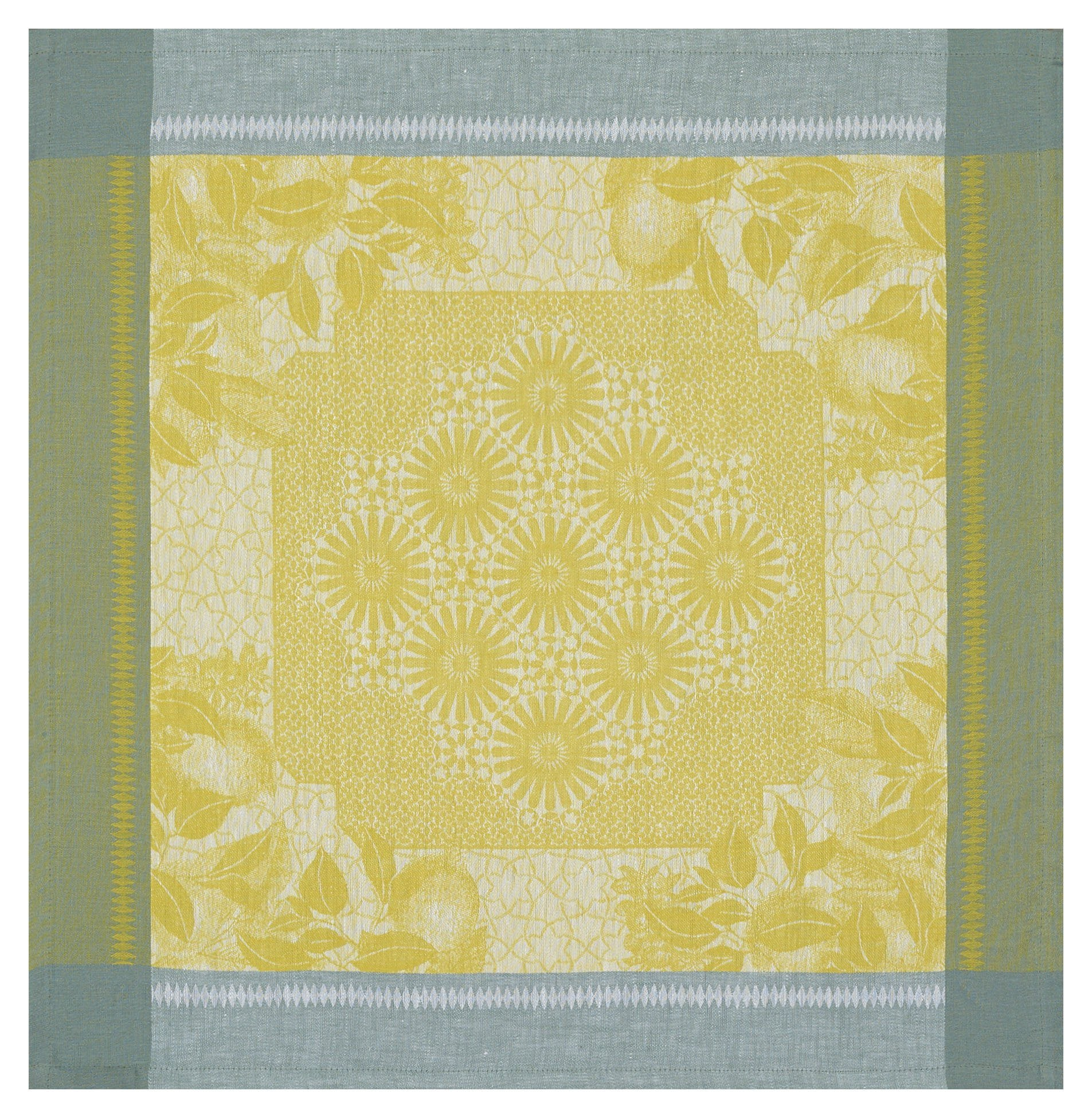 Le Jacquard Français Table Linen Jardin D'Orient Yellow Fig Linens Napkin