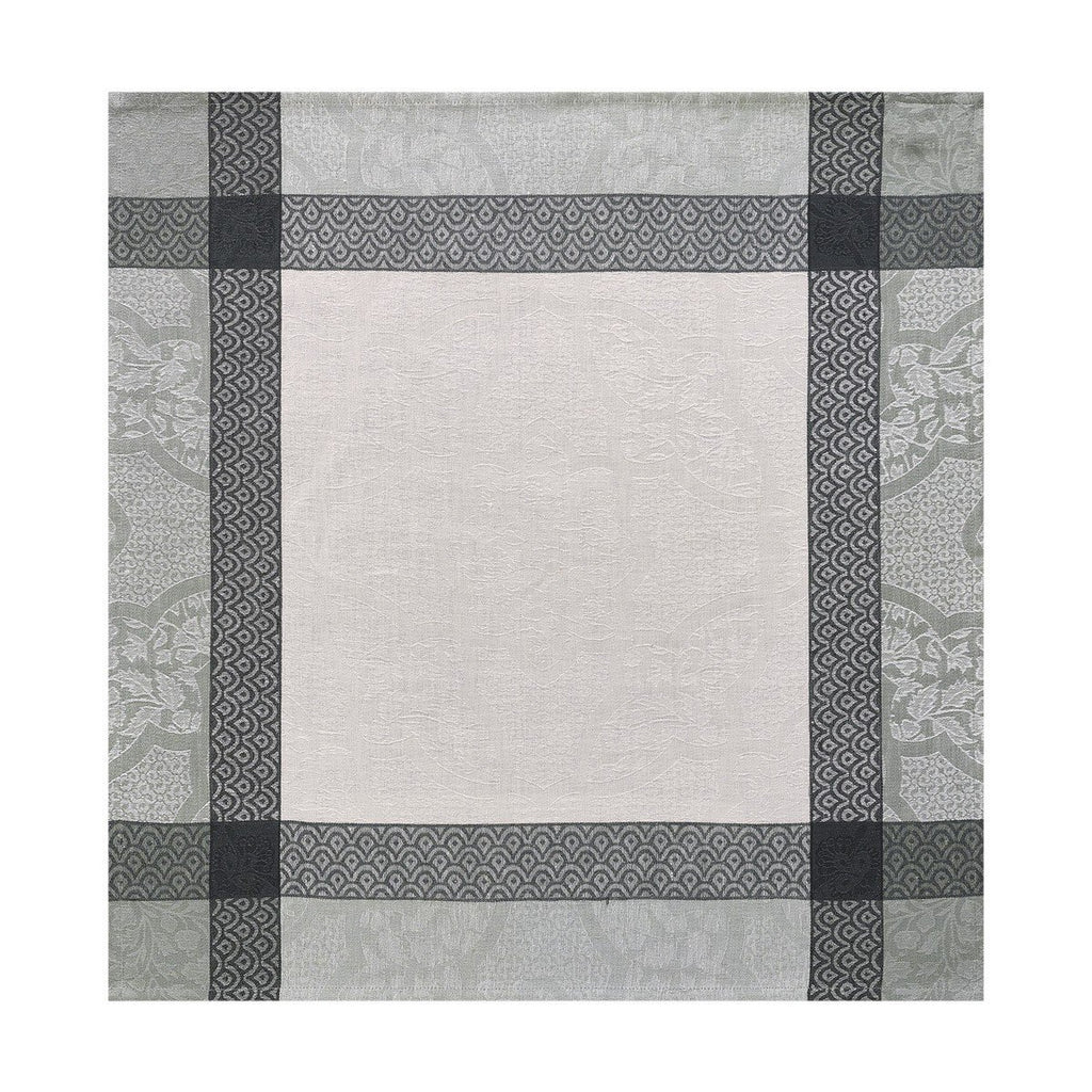 Le Jacquard Français Table Linen Pondichéry Marble Fig Linens Gray White napkin