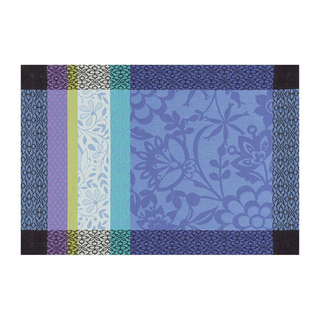 Le Jacquard Français Table Linen Lavender Blue Fig Linens placemat