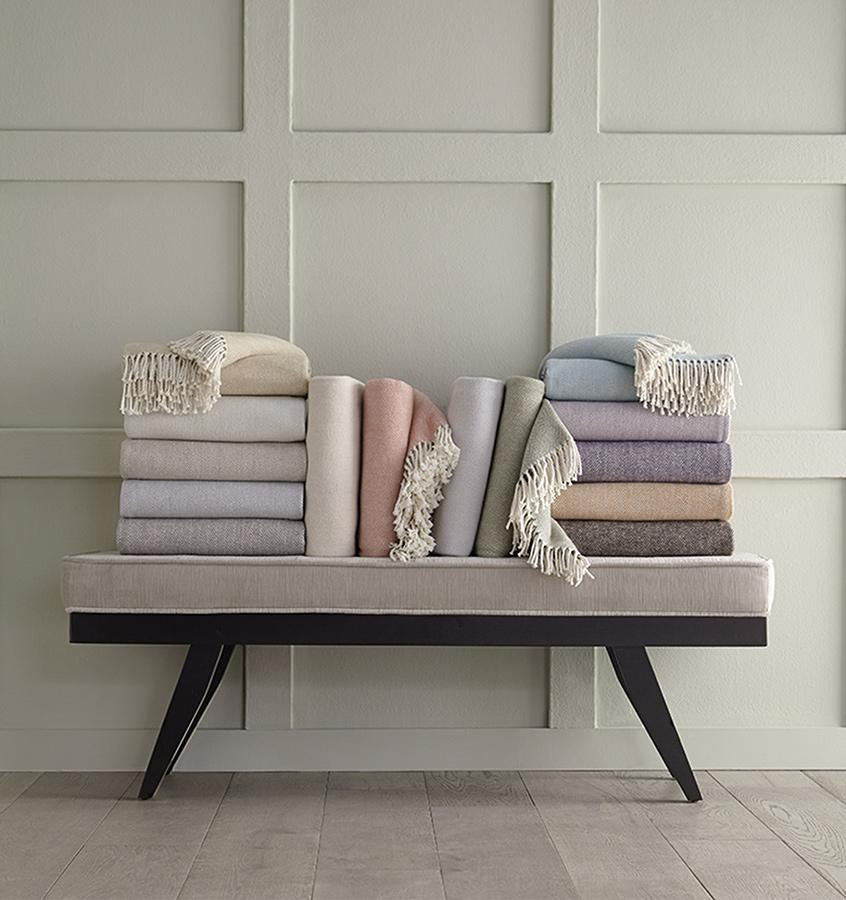 Shop Throws by Sferra at Fig Linens and Home