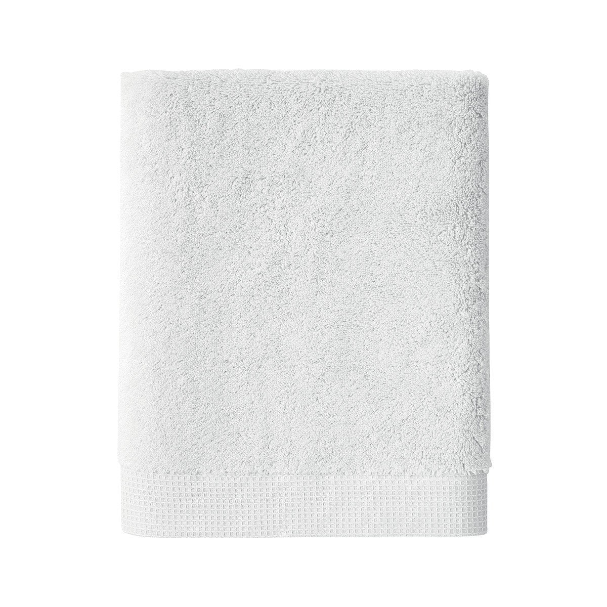Astree Silver Bath Collection by Yves Delorme | Fig Linens - Light gray bath linen, towel