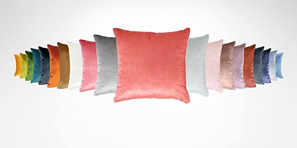 Berlingot Lumbar Decorative Throw Pillows by Iosis Fig Linens Amber All Colors