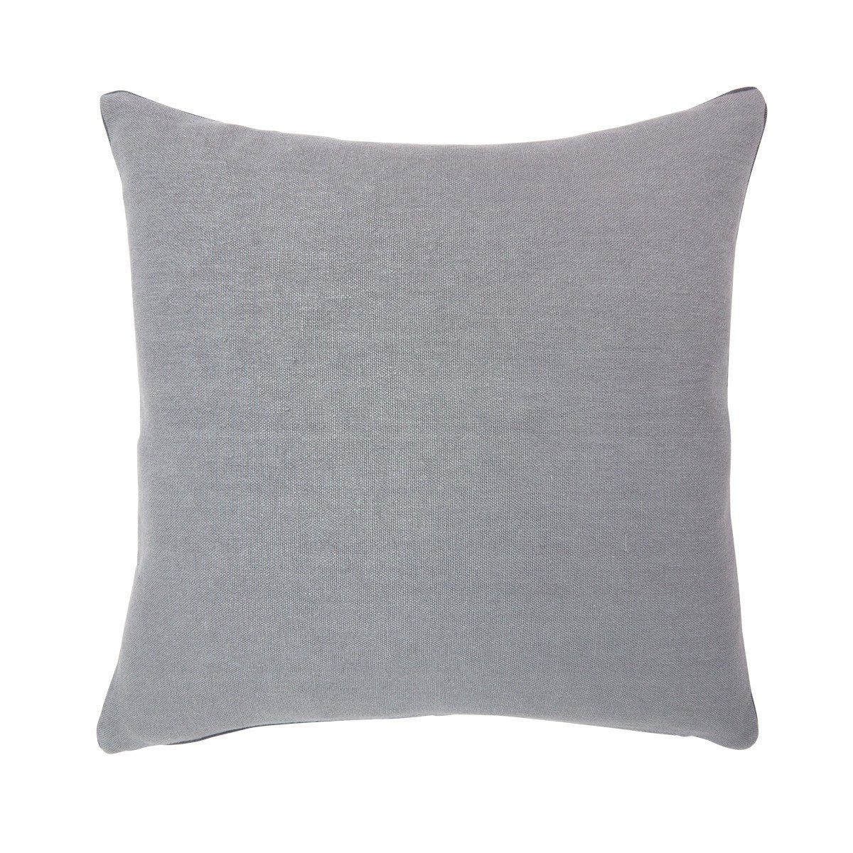 Pigment Zinc Gray Throw Pillow by Iosis | Fig Linens