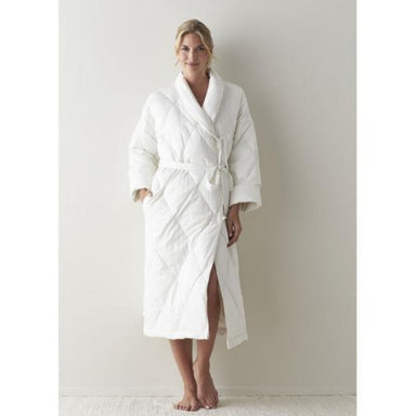 Quilted Down Robe by Scandia Home | Fig Linens