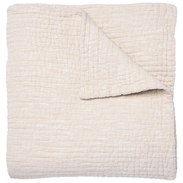 Vivada Sand Coverlet by John Robshaw | Fig Linens and Home