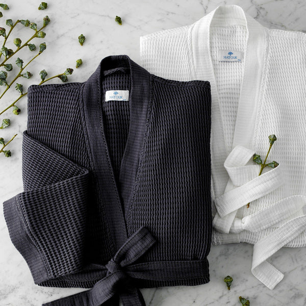 Matouk Kiran Bathrobe | Fig Linens and Home