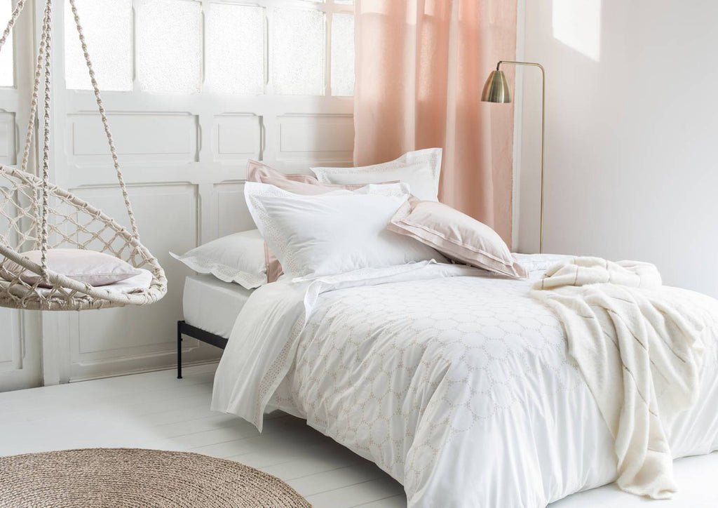 Ronde Nocturne Bedding by Nina Ricci | Fig Linens and Home