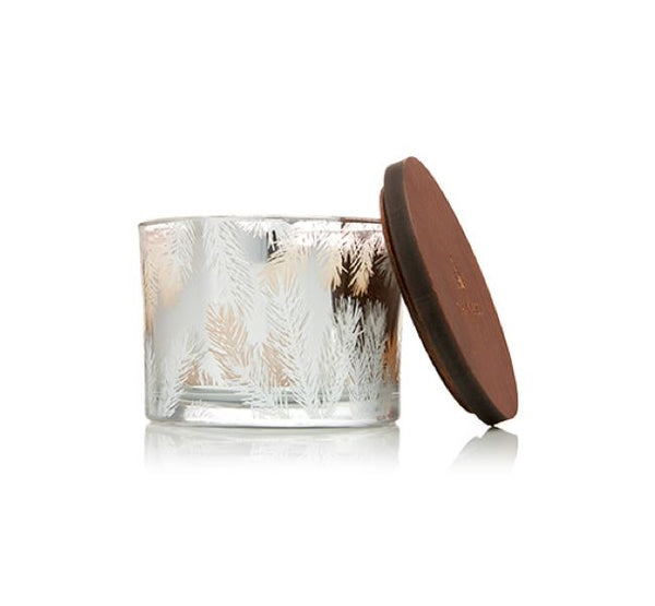 Frasier Fir Statement 3-Wick Candle by Thymes | Fig Linens