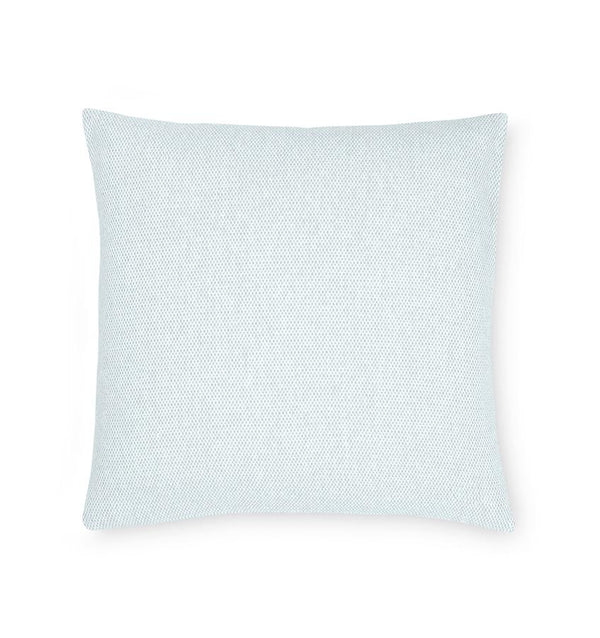 Terzo Seagreen Accent Throw Pillow by Sferra | Fig Linens - light green decorative pillow