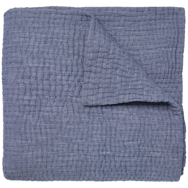 Vivada Indigo Coverlet by John Robshaw | Fig Linens and Home