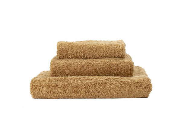 Abyss Super Pile Gold Towels - Fig Linens