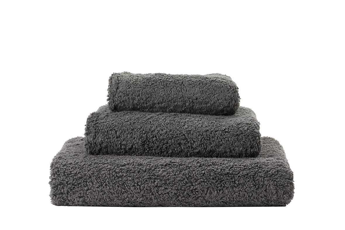 Set of Abyss Super Pile Towels in Gris 920