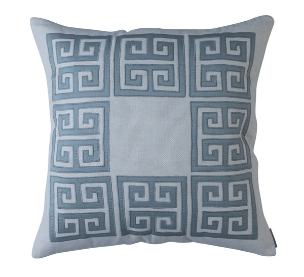Guy Blue Euro Pillow - Lili Alessandra at Fig Linens