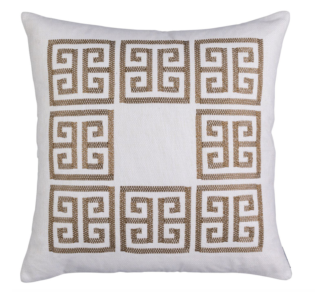 Guy Gold Euro Pillow by Lili Alessandra
