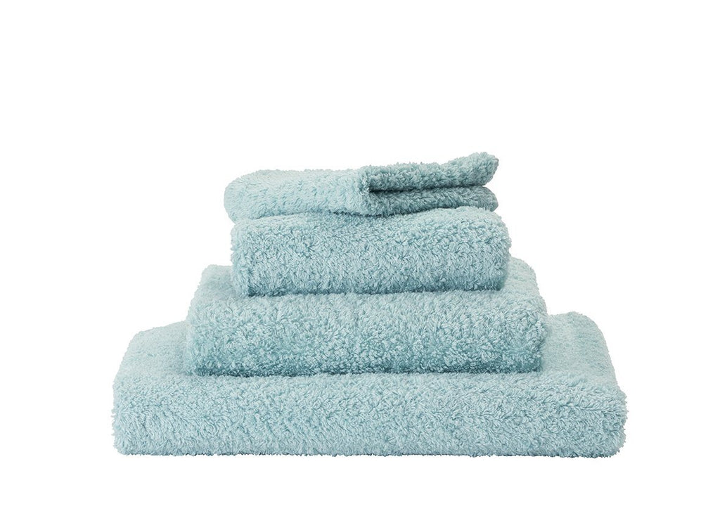 Set of Abyss Super Pile Towels in Ice 235