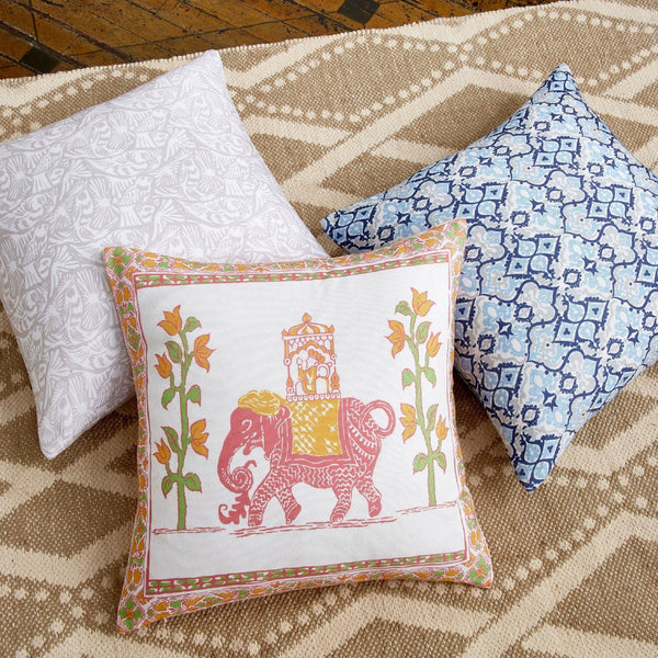 Outdoor Pillows by John Robshaw | Fig Linens and Home