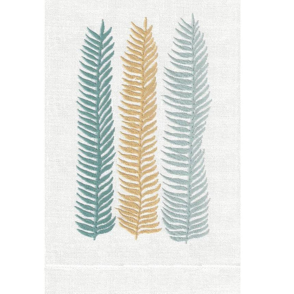 Palm Kelp Linen Guest Towels | Fig Linens and Home