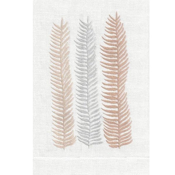 Peach Kelp Linen Guest Towels | Fig Linens and Home