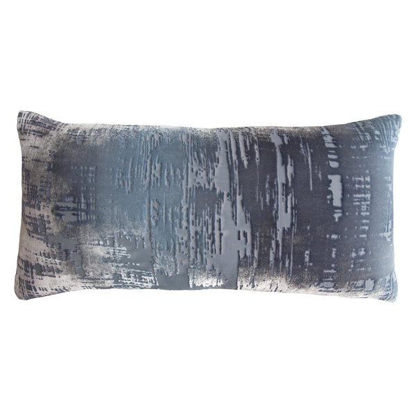 Brush Stroke Velvet Dusk Pillows