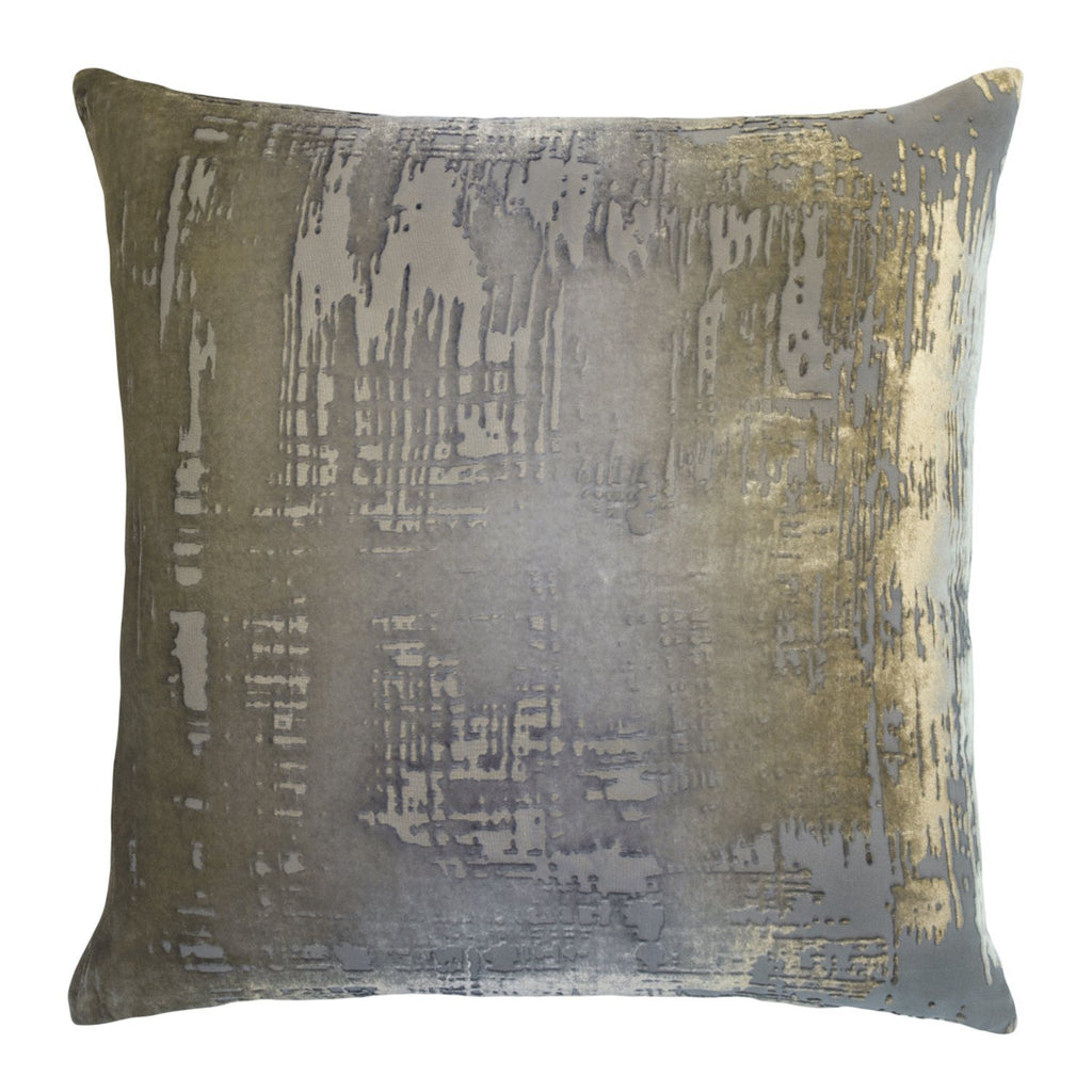 Brush Stroke Velvet Nickel Pillows