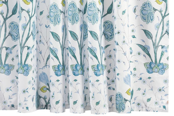 Khilana Blue Shower Curtain by Matouk Schumacher | Fig Linens