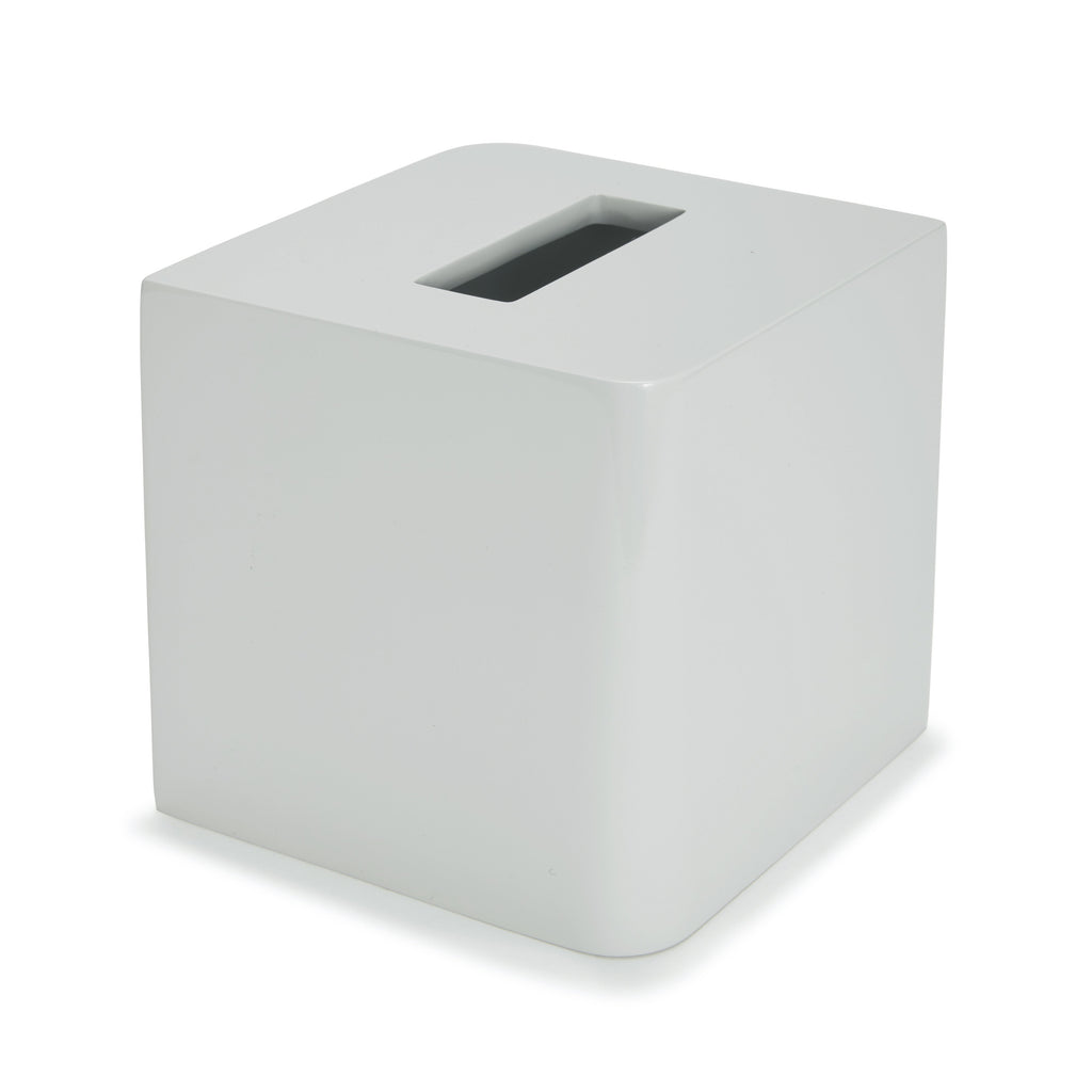Kassatex Lacca Grey Tissue Box Cover