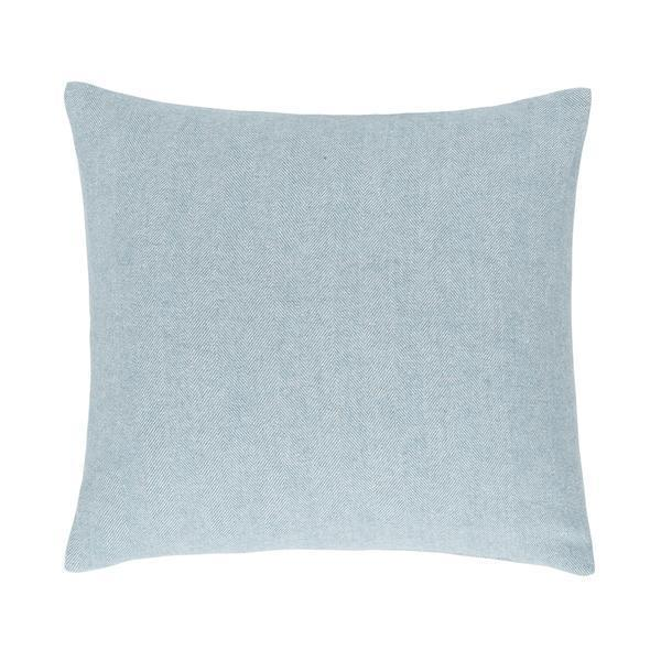 Glacier Solid Herringbone Pillow by Lands Downunder