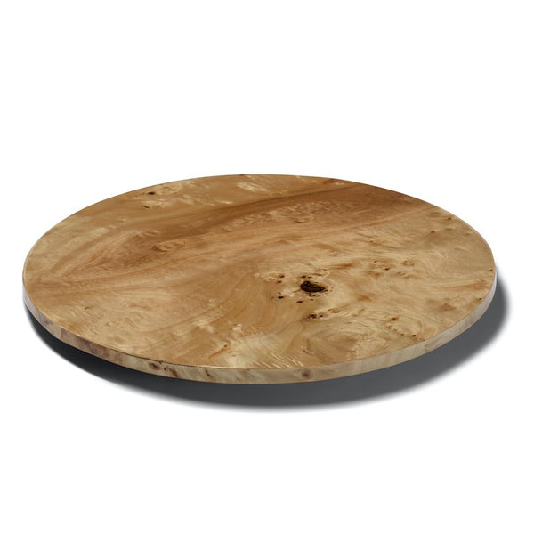 Lazy Susan Burlwood Spinning Tray | LaDorada at Fig Linens