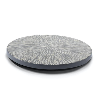 Lazy Susan in Gray Almendro | Ladorada Revolving Tray for the Table