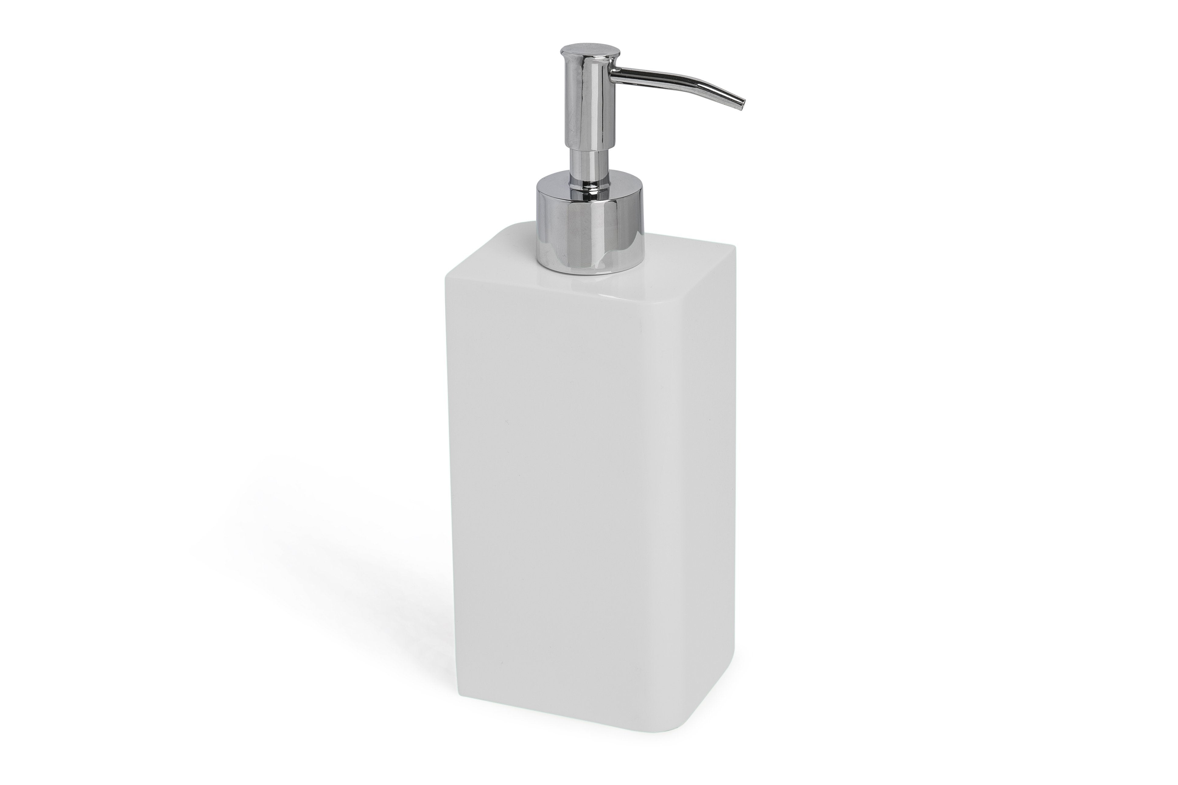 Kassatex Lacca White Lotion Pump Dispenser