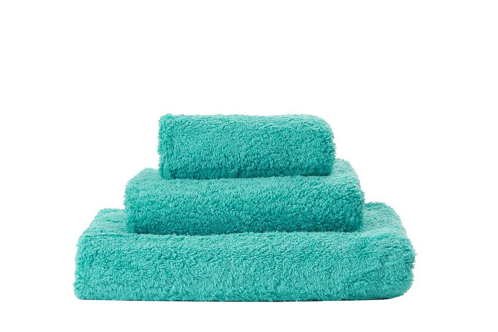 Set of Abyss Super Pile Towels in Lagoon 302